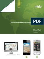 Guías Turísticas para SmartPhones y Tablets - Mtrip-Taller emarketing