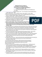 Daftar Judul Disertasi