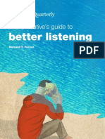 McKinsey Guide to Listening
