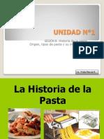 8.- La Historia de La Pasta