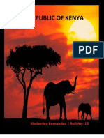 Republic of Kenya Proj