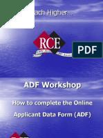 2011 REALTOR® Association Certified Executive ADF Workshop Presentation