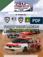 Peraturan Pelengkap Sumut Rally 1