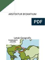 ARSITEKTUR BYZANTIUM 1