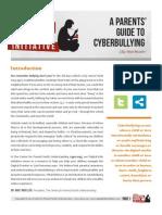 Cyber Bully Handout