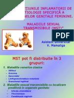 Afectiunile Inflamatorii Maladii Sexual Transmisibile - V. Mamaliga