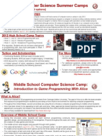 Computer Science Camp-Flyer