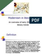modernismin literature