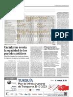 Estudio información páginas digitales Partidos Políticos