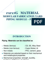 Piping Material Pres