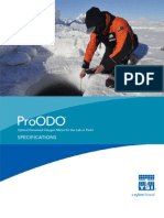 YSI ProODO Optical Dissolved Oxygen Meter