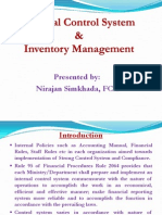 Internal Control & Inv Mgmt