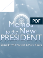 Memos to the New President by the Progressive Policy Institute