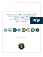 White House Annual Intellectual Property Report