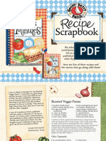 Recipe Scrapbook, Meals in Minutes 10th Anniversary Edition