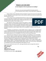 Zimmerman Letter to Sanford Churches