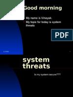 System Threats