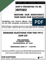 Fair Election Flyer-April2012