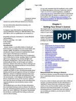 Driver's Handbook,On2012
