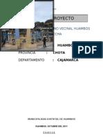 Perfil Huambos - La Paccha