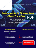 Detección de BLEE en el Laboratorio de Microbiología