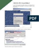 Exchange Server 2010 SSL OWA Yayını Bölüm 2