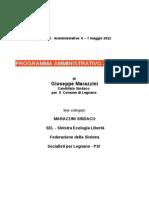 Programma Marazzini 2012