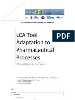D2 1_LCA Tool Adaptation to Pharmaceutical Processes