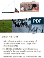 Grand Project on Micro Finance