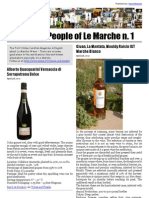 Wines and People of Le Marche n. 1