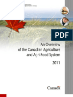 Overview of the Canadian Agri-Food System
