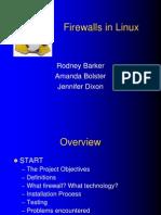 Linux Firewalls Ppt 4205
