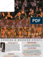 UC Berkeley Music Department 2012 Events at The Magnes
