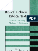 _Rapoport-Albert&Greenberg_Biblical Hebrew, Biblical Texts -