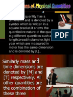 9.Dimensions of Physical Quantities