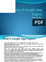 Working of Google App Engine