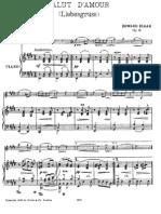Elgar - Salut d'Amour, Op. 12 for Violin & Piano