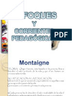 CORRIENTES PEDAGOGICAS