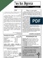 Folhetin (Quaresma/Páscoa) 2012