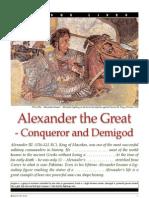 Alexander the Great Conqueror and Demigod