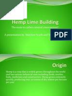 Hemp Lime Building