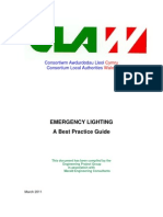Emergency Lighting - A Best Practice Guide - March 2011