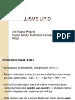 07 Biokimia - Metabolisme Lipid UM