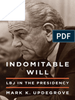 Indomitable Will by Mark K. Updegrove - Excerpt