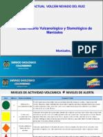 Situación Actual Nevado Del Ruiz - Servicio Geologico Colombiano