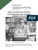 Entrevista Cornejo Polar