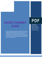 Ancient Sanskrit Aliens