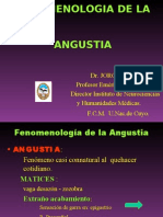 Fenomenología de La Angustia