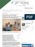 Eine Illusion Wird Zur Therapie Wildunger Zeitung Waldeck Lokales