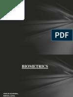 Bio Metrics PPT 2